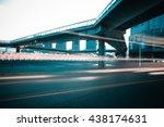 intersection of urban... | Shutterstock . vector #438174631