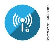wifi icon   Shutterstock .eps vector #438188854