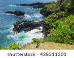 Rocky Coast At Waianapanapa...