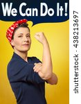 Rosie The Riveter Photo With...