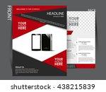 business flyer    Shutterstock .eps vector #438215839