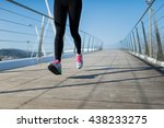 detail of the legs of a woman... | Shutterstock . vector #438233275