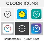 clock icon set