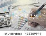 financial advisor. | Shutterstock . vector #438309949