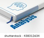 advertising concept  closed... | Shutterstock . vector #438312634