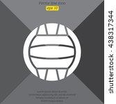 web icon. water polo | Shutterstock .eps vector #438317344