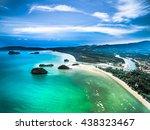aerial view of nopparat thara... | Shutterstock . vector #438323467