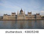 hungarian parliament building | Shutterstock . vector #43835248