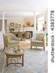 interior sitting room | Shutterstock . vector #4383778