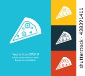vector illustration of pizza...