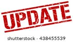 update stamp.stamp.sign.update. | Shutterstock .eps vector #438455539