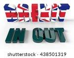 british referendum brexit vote... | Shutterstock . vector #438501319
