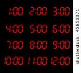 times | Shutterstock . vector #43853371