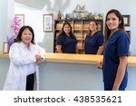 at doctor office | Shutterstock . vector #438535621