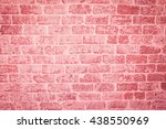 Red Brick Wall In A Background...