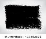 grunge banner.grunge background.... | Shutterstock .eps vector #438553891