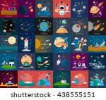 space and universe | Shutterstock .eps vector #438555151