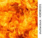 blaze fire flame texture... | Shutterstock . vector #438580201