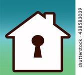 house | Shutterstock .eps vector #438583039