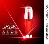laser serum collagen and... | Shutterstock .eps vector #438609721