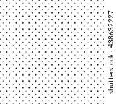 vector seamless dot pattern.... | Shutterstock .eps vector #438632227