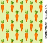 carrot vector | Shutterstock .eps vector #438682471