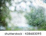 Fresh Rain Splash Drops On A...