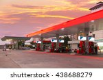 petrol station and gas station... | Shutterstock . vector #438688279