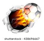 an illustration of a burning...   Shutterstock .eps vector #438696667