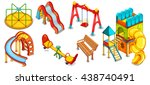 a set of illustrations of the... | Shutterstock .eps vector #438740491
