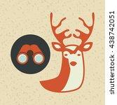 summer camp design    Shutterstock .eps vector #438742051