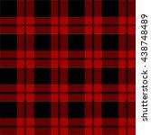 lumberjack plaid pattern vector  | Shutterstock .eps vector #438748489