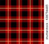 tartan pattern  | Shutterstock . vector #438756685
