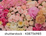 flower bouquets   bunch of... | Shutterstock . vector #438756985