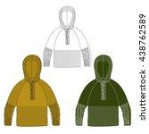 clothes for men | Shutterstock .eps vector #438762589