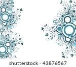 valentines background | Shutterstock .eps vector #43876567