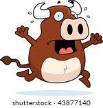 bull panic | Shutterstock . vector #43877140