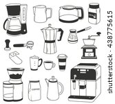Big Set Of Coffee Equipment....