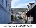 england town | Shutterstock . vector #438790411