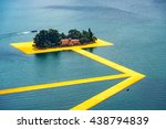 peschiera maraglio  italy  ... | Shutterstock . vector #438794839