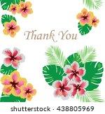 vector illustration of thank... | Shutterstock .eps vector #438805969
