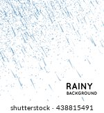 rainy sky vector illustration | Shutterstock .eps vector #438815491