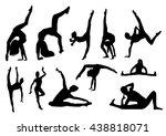gymnastics | Shutterstock .eps vector #438818071