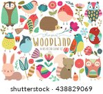 Woodland Animals And Whimsical...
