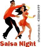 salsa night polygonal...