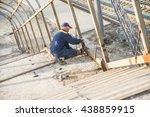 bridge construction for outcome ... | Shutterstock . vector #438859915