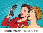 Two Girlfriends And A Telephon...