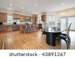kitchen with eating area | Shutterstock . vector #43891267
