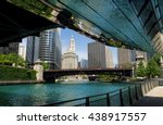Off Of The Chicago River As The ...
