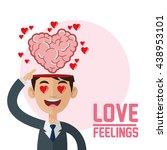 love design. feelings icon.... | Shutterstock .eps vector #438953101